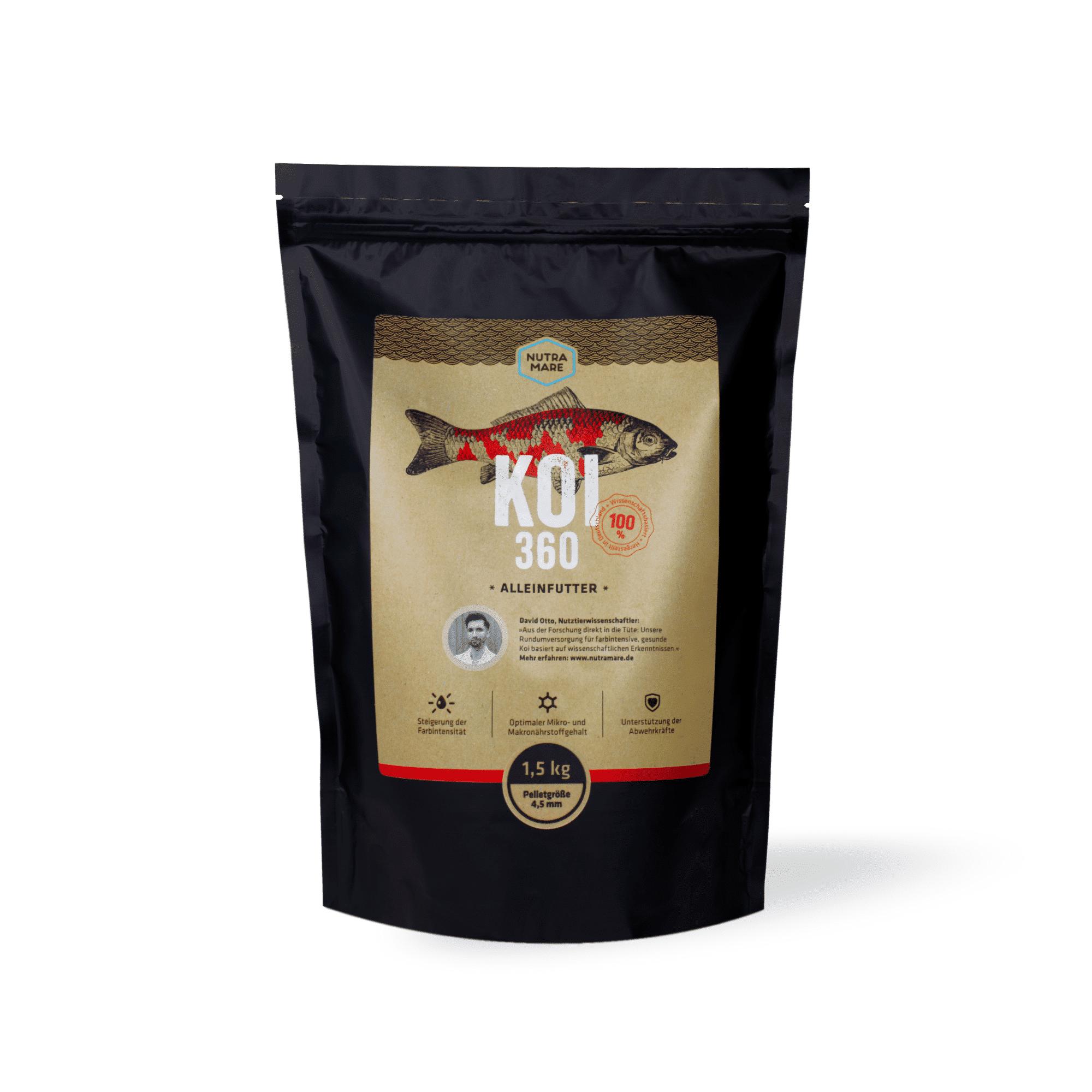 Koifutter Nutramare Koi360 1,5 kg