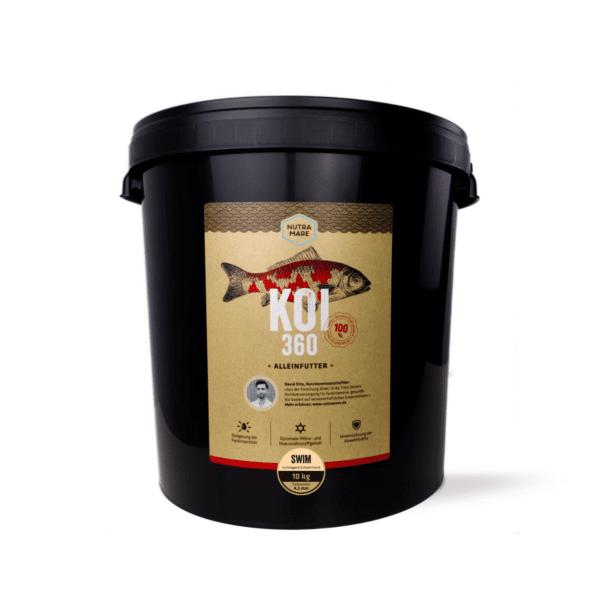 Koifutter Nutramare Koi360 SWIM 10 kg
