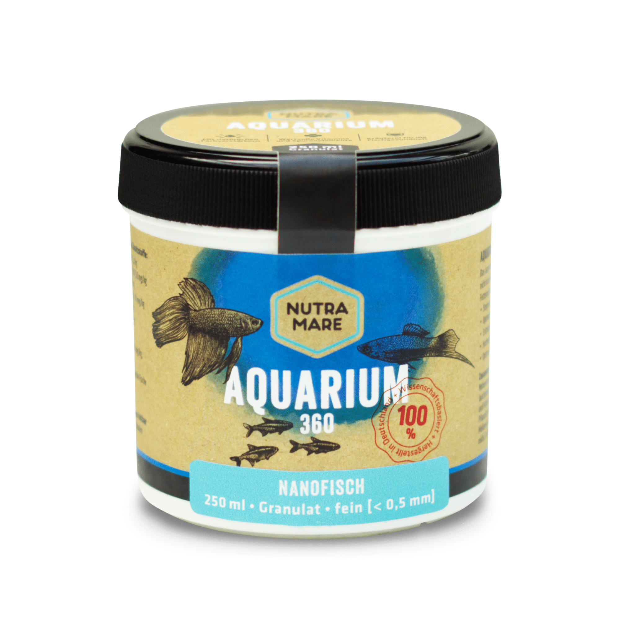 Aquariumfutter Nutramare Aquarium360 Nanofisch 250ml