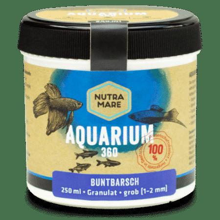 Aquarienfutter Aquarium360 250ml Grob - Buntbarsch Granulat