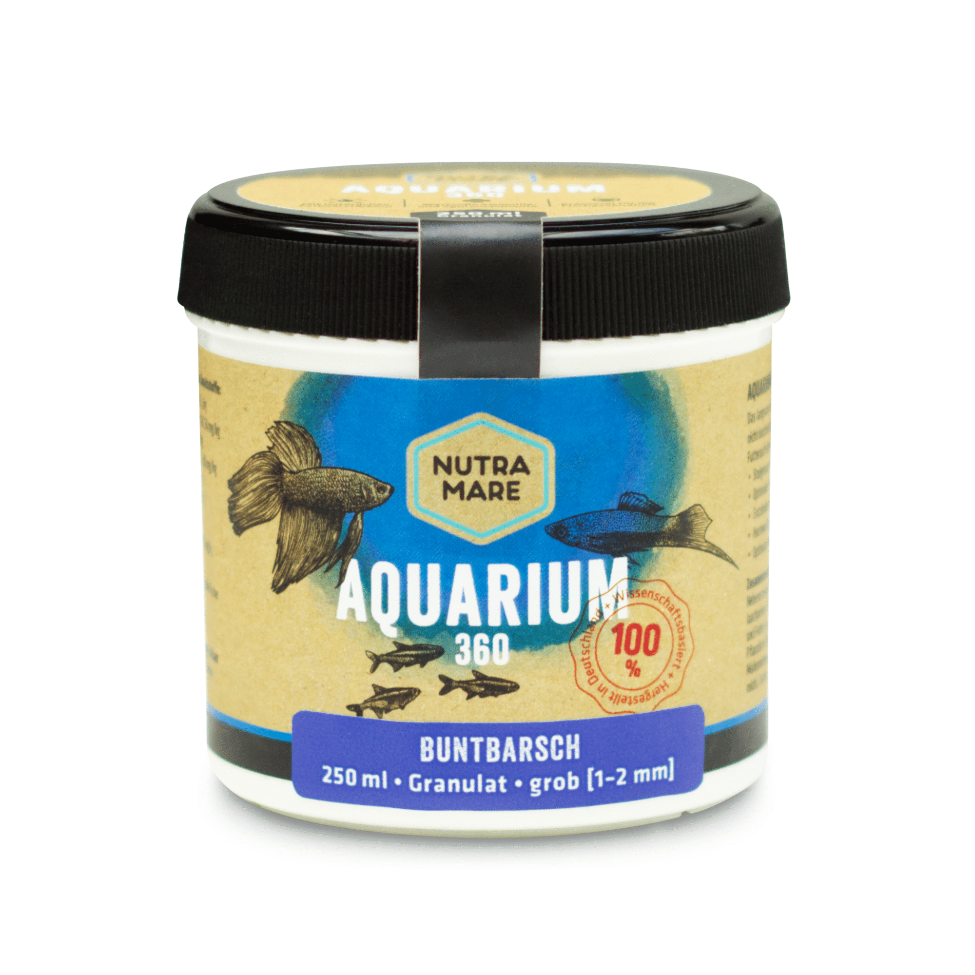 Aquariumfutter Nutramare Aquarium360 Buntbarsch 250ml