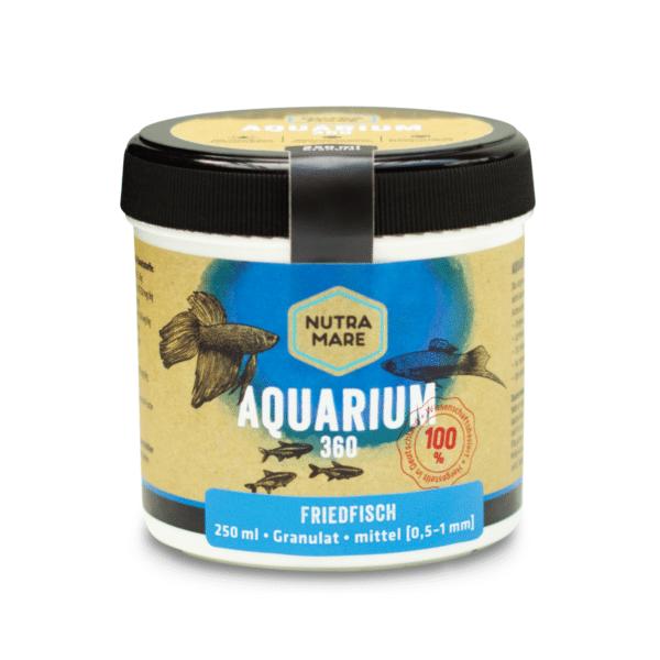 Aquarienfutter Aquarium360 250ml Mittel - Friedfisch Granulat
