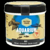 Aquarienfutter Aquarium360 250ml Mix- Granulat