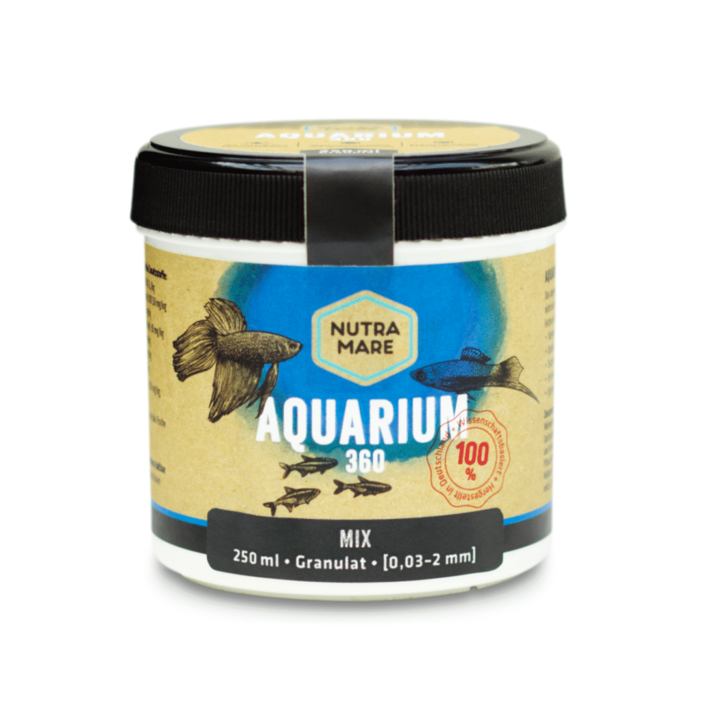 Aquarienfutter Aquarium360 250ml Mix- Granulat