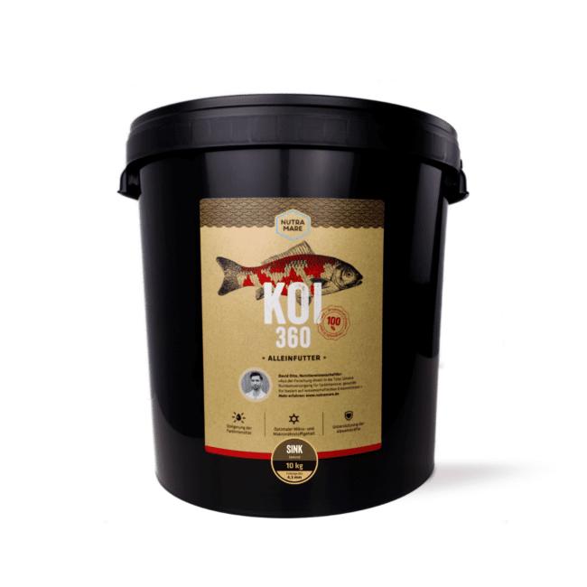 Sinkfutter Nutramare Koi360 SINK 10 kg