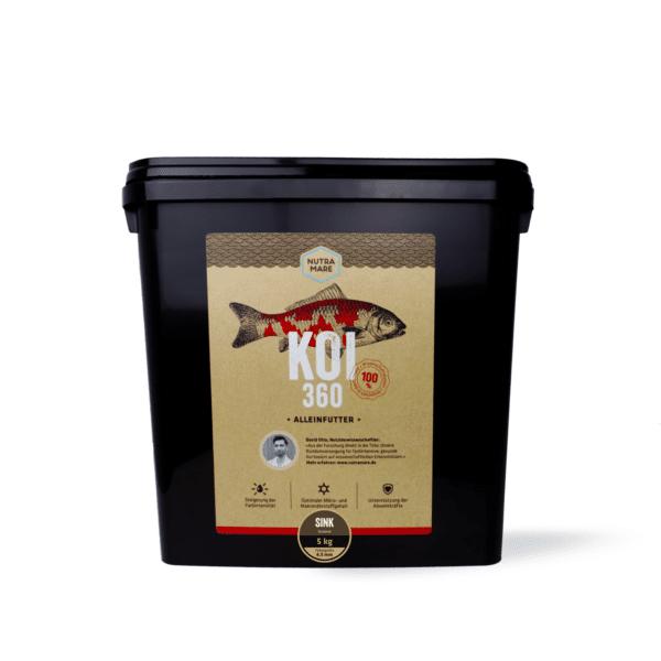 Sinkfutter Nutramare Koi360 SINK 5 kg