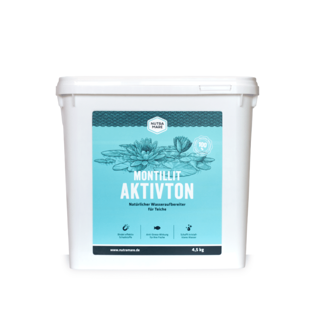 Wasseraufbereiter Nutramare Montillit Aktivton 4,5 kg